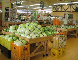 長野県A・コープ県下最大級の農産物直売所「マルシェ国分」